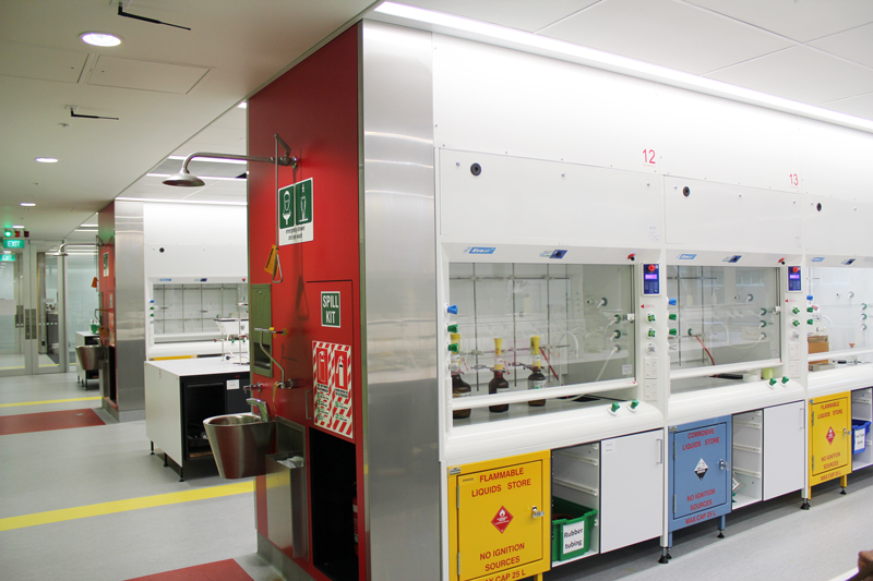Fume Cupboards University of Auckland